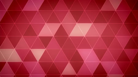 Triangle Polygon Loop 06 Love Stock Footage