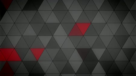 mosaico : Triangle Polygon Loop 08 Masculine Stock Footage
