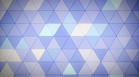 Triangle Polygon Loop 09 Lavender Stock Footage