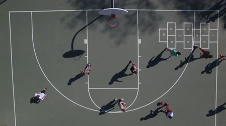 кустарник : Nashville, TN - View from above of Basketball game