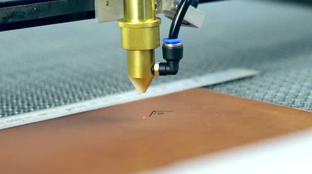 laser CNC machine for leather