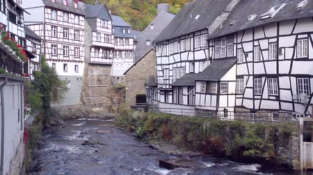 определенный : Old water mill in small town Monschau (Germany).