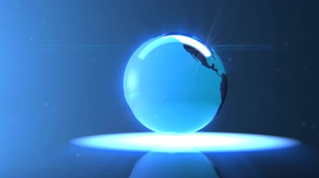 Glass Globe earth
