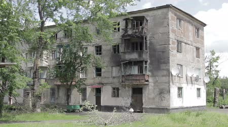 cegła : War destroyed house