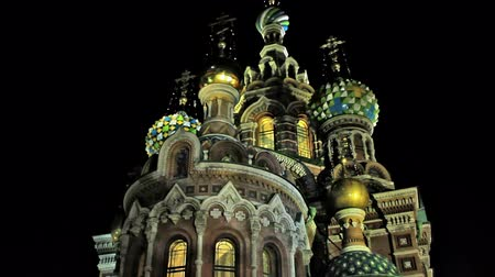 ruský : The Church of the Savior on Spilled Blood. St. Petersburg, Russia
