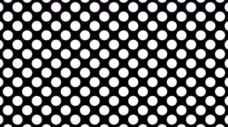 composição : Dynamic Black And White Composition With Dots Scaling. 4k animation pack of a black and white background. Seamless loop Stock Footage