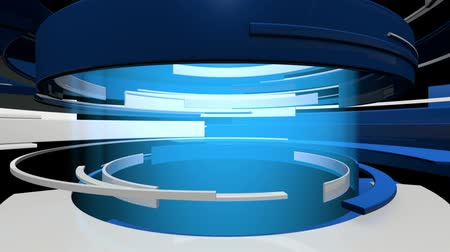 вещание : Fast Motion 3D Graphic Curves Abstract Animation - HD seamless looping video animation.