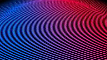 radio wave : Geometric audio waveform animation, pulse reacts  to 120bpm beat, simple beat made from scratch and audio track included with video.-