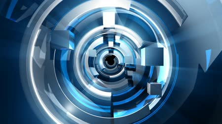geniş açılı : Rotating, spinning, 3D Abstract Geometric Shapes Animation. HD seamless looping video animation. See all the other elements in this series to create your complete broadcast package.-