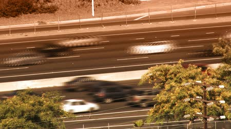 межгосударственный : Rush hour traffic on Interstate 5 Freeway in Southern California. Originally shot on: 3CCD HD 1080p at 24FPS. 3:2 pulldown to 30fps.-