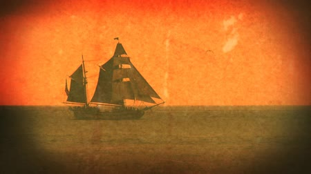 pirat : Shot off the coast of California in 2007, added old film effects with grain and grunge to give it a dirty look. Shot on HD 1080.- Wideo