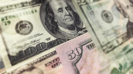 bringing home the bacon : Actual high resolution scans of real U.S. money. HD 1080 animation.-