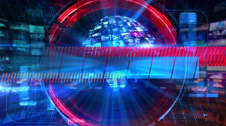 news tv : Blank News - Broadcast Graphics Title Animation 4k Stock Footage