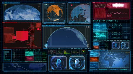 Technology Interface Computer Data Screen GUI 4K