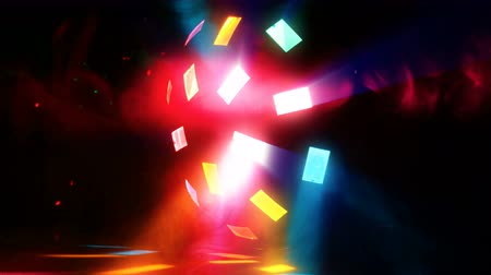 Colorful Disco Abstract Dance Background