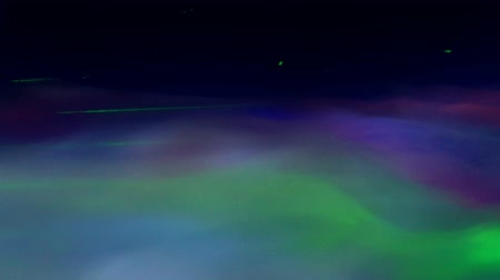 Colorful Lasers and Smoke Fog Abstract Background