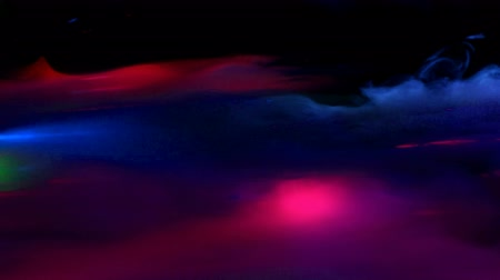 refraksiyon : Colorful Lasers and Smoke Fog Abstract Background