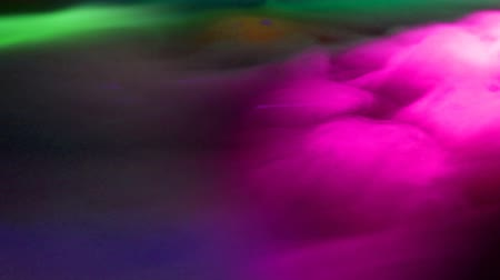 нечеткий : Colorful Lasers and Smoke Fog Abstract Background