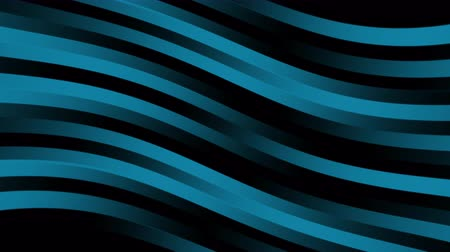 Glowing dark blue stripes wave lines abstract on black background.Line pattern wavy texture motion graphics animation. Seamless looping. Flat Modern Gradient Animation Colorful  Pink Stripes Rippling
