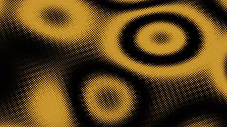 küresel : A computer generated animation of an abstract background with pulsing circular ripples Stok Video