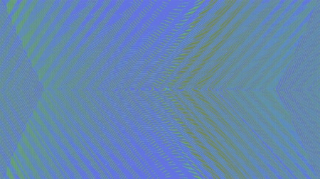 A computer generated animation of an abstract background with jagged, distorted, glitching vertical lines Wideo