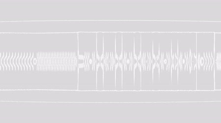 oscilante : A computer generated animation of a stylized waveform