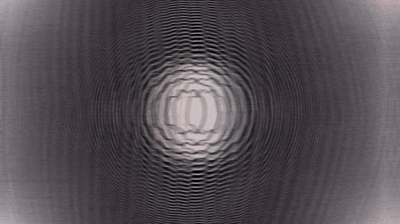 zrnitý : A computer generated animation of flickering glitching concentric circles Dostupné videozáznamy