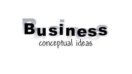 продукты : BUSINESS conceptual ideas shocking red words