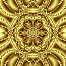csempe : Unique rendering, Abstract exotic animation, Fantastic design, Colorful digital art, geometric kaleidoscope Stock mozgókép