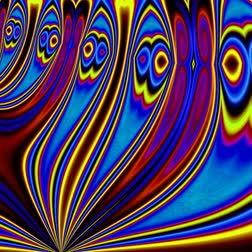 vállkendő : Unique rendering, Abstract exotic animation, Fantastic design, Colorful digital art, geometric kaleidoscope Stock mozgókép