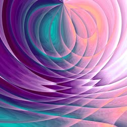 Unique rendering, Abstract animation, Fantastic design, Colorful digital art, geometric textu