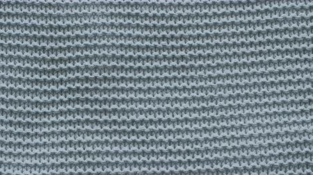 kötés : Dark green texture of the knitted fabric