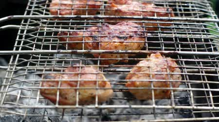 braadkip : Zomer barbecue concept. Close-up met ondiepe DOF.