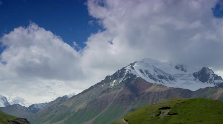 lenin peak : Alay Valley, peak of Lenin Pamir mountains