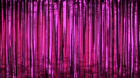 closing : Fancy stage or window red curtain 3D animation, alpha matte is included Stock Footage