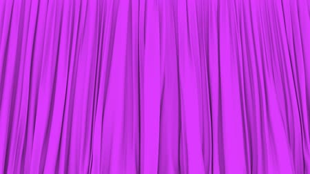 png : Stage or window purple curtain PNG plus alpha 3D animation