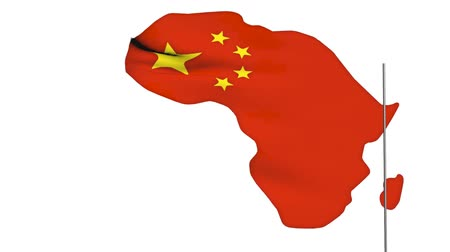 чад : China invest in Africa concepts, 3d animation