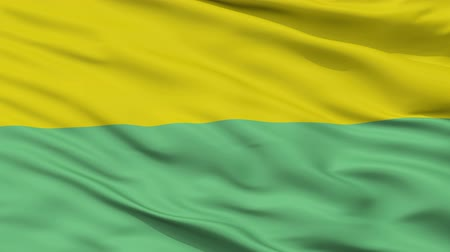 Колумбия : Gutierrez  closeup flag, city of Colombia, realistic animation seamless loop - 10 seconds long