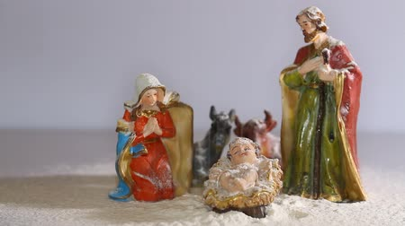 jesus born : Holy Family in the tradition of Christmas