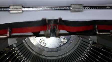 antika : TYPEWRITER with written Vitange e Retro in the paper