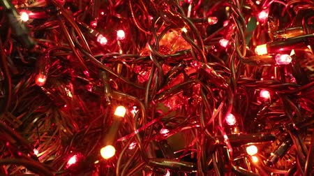 kabely : flashing light led decoration of a Christmas tree