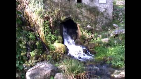 outpouring : Italian Bussento river outfall video