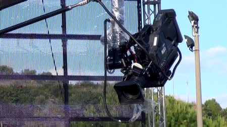 atirar : Video camera at a concert