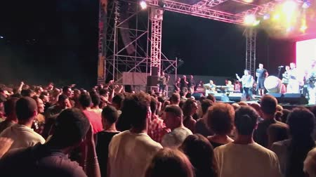cümbüş : Vincenzo Avitabile in concert, Meeting of the Sea, July, 2015, Marina di Camerota, Italy
