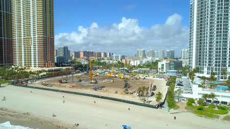grensverleggend : Luchtaanraking bouwplaats The Estates bij Acqualina 4k