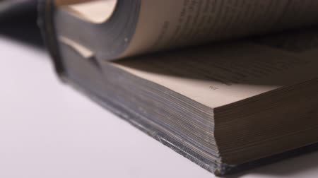 roman : turning the pages of an old book