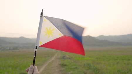 drapeau de phillipine en plein air