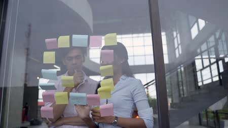post room : business teamwork in meeting gathering some idea Stock Footage
