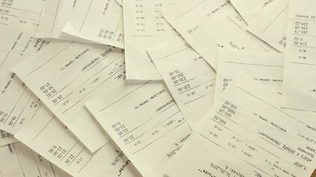 ev idaresi : Sales receipts for purchasing of the goods. Pile Of Shopping Receipts With Costs