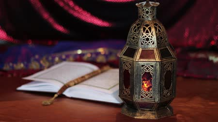 rosário : Eid Mubarak. Candle flicker in the lamp. Eid-al-Adha in the month of Dhul Haj